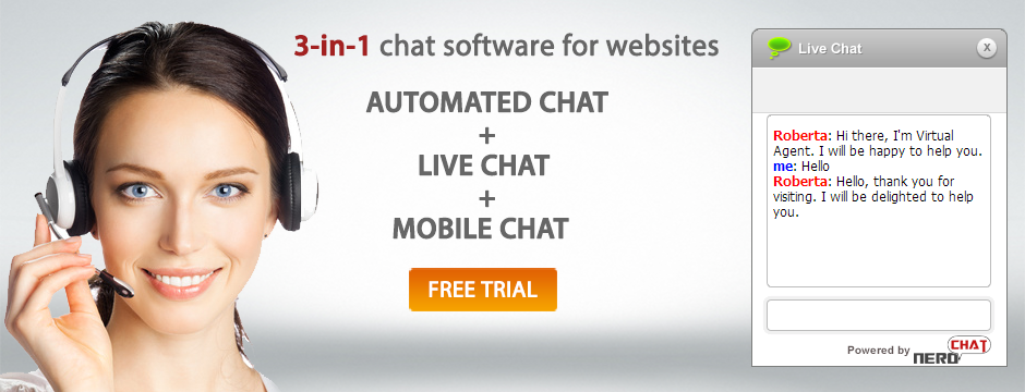 robot and mobile chat solutions